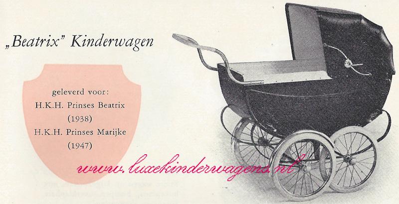 """""""Beatrix"""" kinderwagen"""