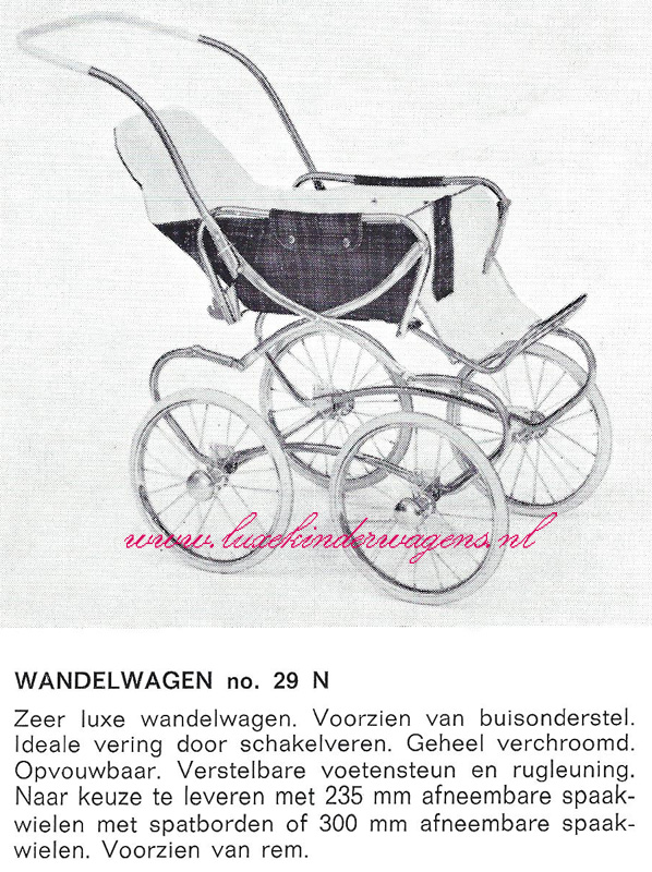 Wandelwagen No. 29 N