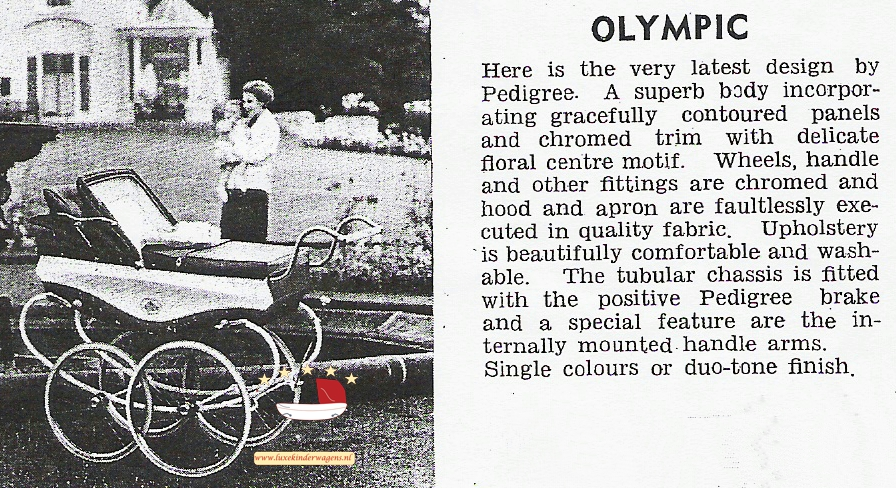 Pedigree Olympic mid60s