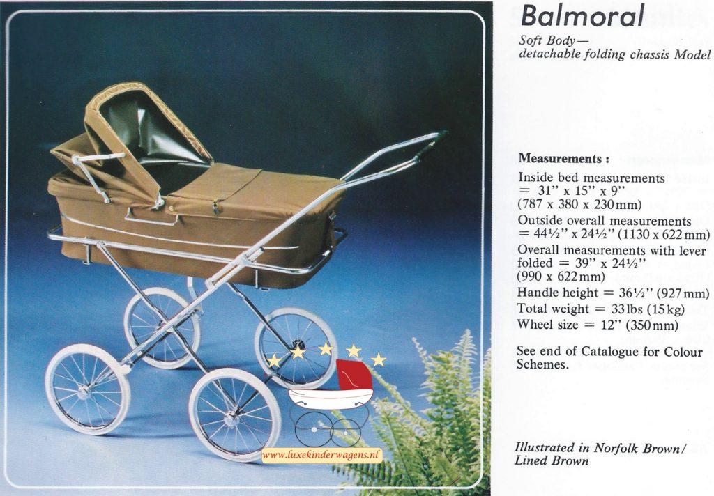 Silver Cross Balmoral 1979