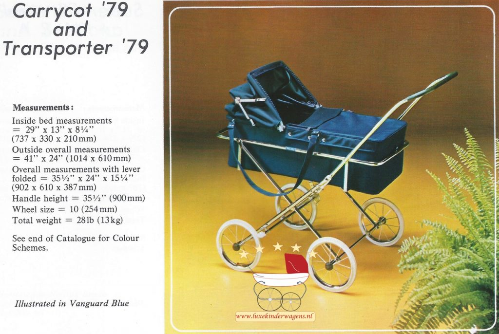 Silver Cross Carrycot-Transporter 1979