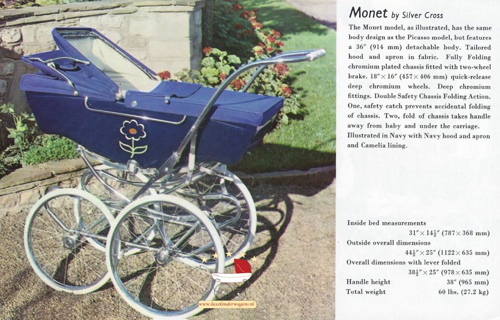 Silver Cross Monet 1970