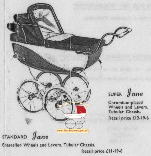 Silver Cross Poppenwagen Jane 1954