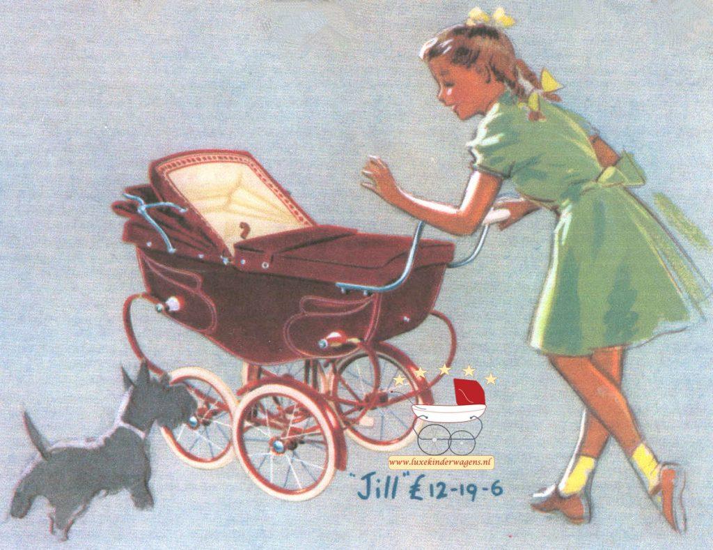 Silver Cross Poppenwagen Jill 1950