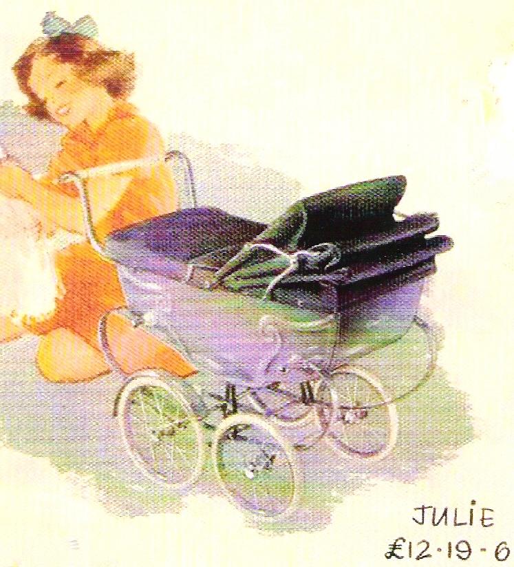 Silver Cross Poppenwagen Julie 1949-1951