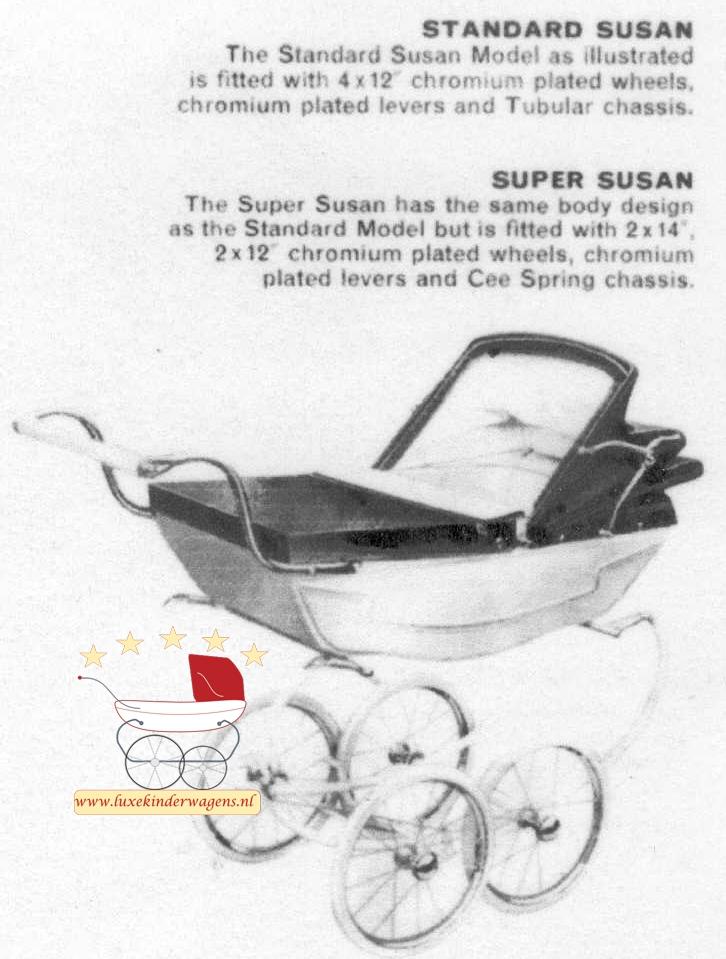 Silver Cross Poppenwagen Susan 1968