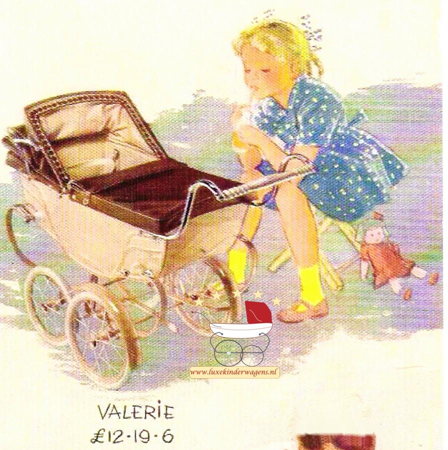 Silver Cross Poppenwagen Valerie 1949-1951