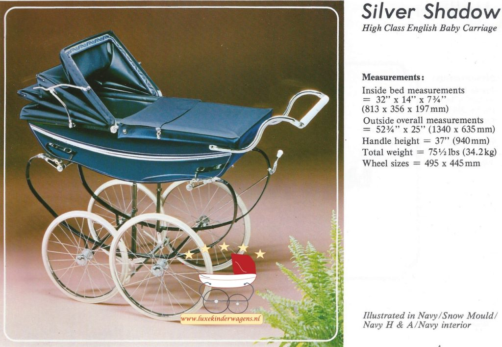 Silver Cross Silver Shadow 1979