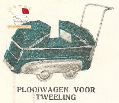 Tweeling plooiwagen
